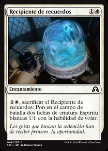Recipiente de recuerdos - Vessel of Ephemera